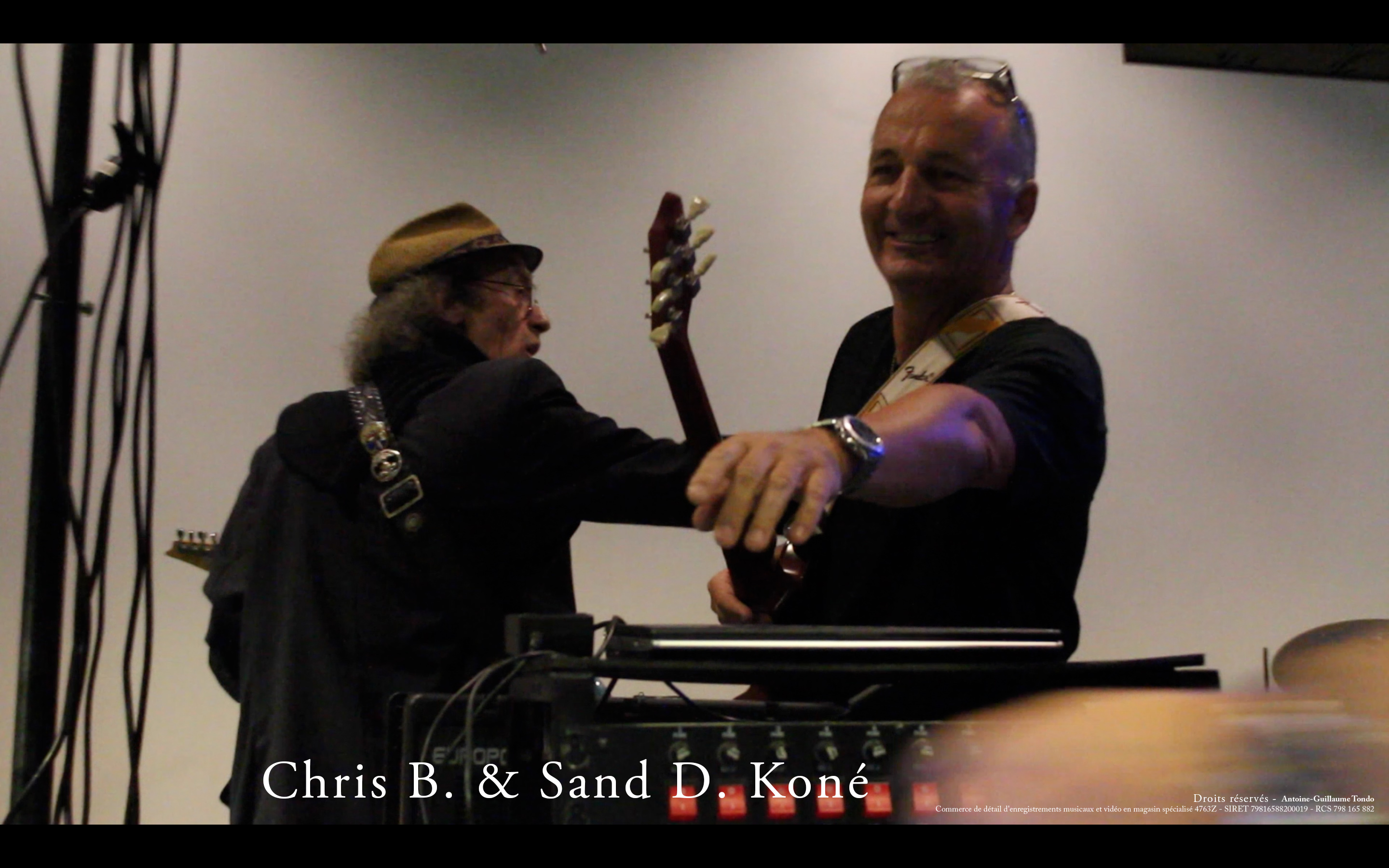 Chris B and Sand D. Koné