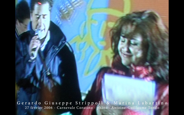 Gerardo Giuseppe Strippoli - Marina Labartino