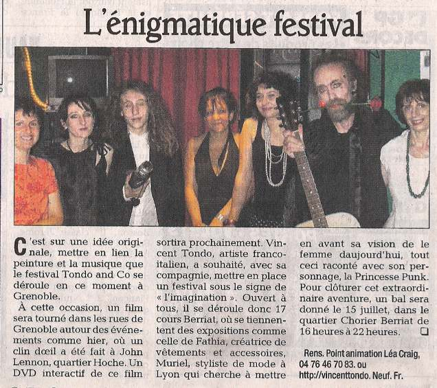 L'énigmatique Festival