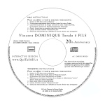 Vincent Dominique Tondo ë Fils - 20th Anniversary Album - Disc