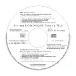 Vincent Dominique Tondo ë Fils - 20th Anniversary Album - Disc