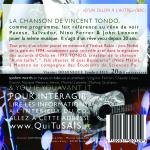 Vincent Dominique Tondo ë Fils - 20th Anniversary Album - Verso